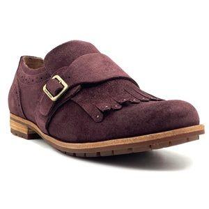 Kork-Ease Suede Bailee Kiltie Strap Oxford Shoe